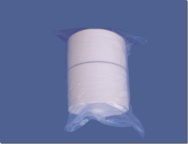 Gauze Roll with X-Ray-Detectable Thread